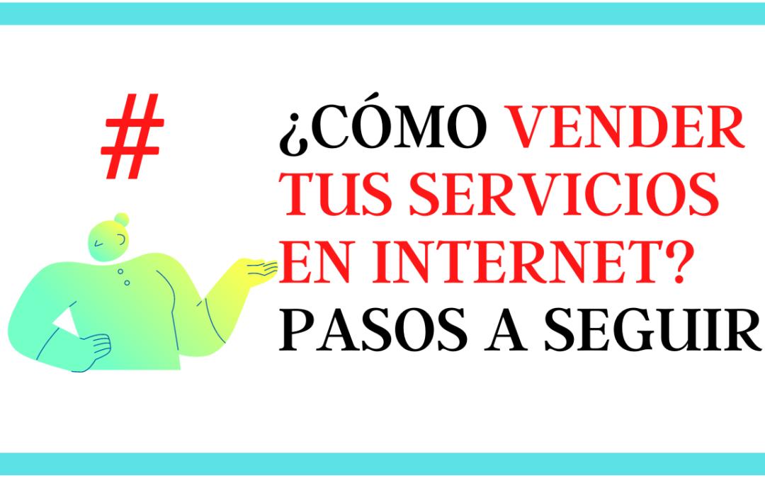 Como vender mis servicios en Internet
